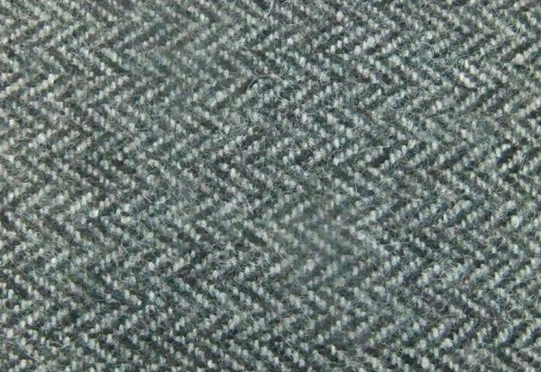 Herringbone Grey Wool Felt