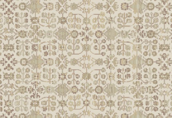Ivory Handknotted