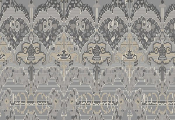 Grey Handknotted